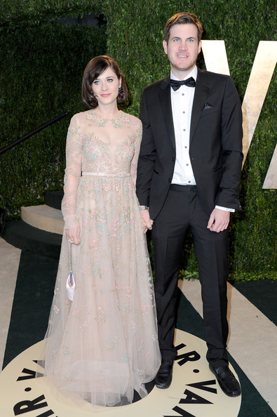 More Pics of Zooey Deschanel Evening Dress (5 of 17) - Dresses & Skirts Lookbook - StyleBistro