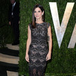 Sandra Bullock Wore Elie Saab at the Vanity Fair Oscars Party 2013