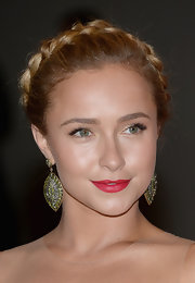 Hayden Panettiere chose a braided crown to style her blonde locks at White House Correspondents' Dinner.