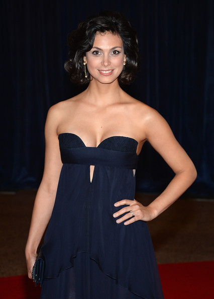 More Pics of Morena Baccarin Strapless Dress (1 of 5) - Morena Baccarin Lookbook - StyleBistro