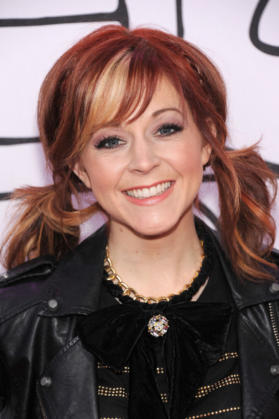 More Pics of Lindsey Stirling Leather Jacket (1 of 5) - Lindsey Stirling Lookbook - StyleBistro