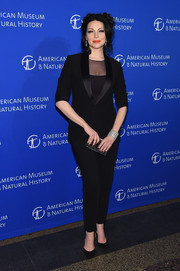 Laura Prepon was sharply dressed in a sleek black pantsuit at the American Museum of Natural History Gala.