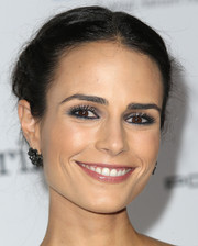 Jordana Brewster sweetened up her look with this braided updo when she attended the Baby2Baby Gala.