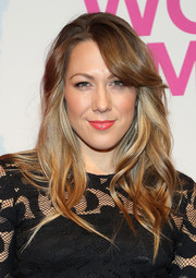 Colbie Caillat attended the Billboard Women in Music luncheon wearing gentle waves and side-swept bangs.