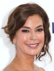 Teri Hatcher swept her hair up into a romantic 'do for the CHLA gala.