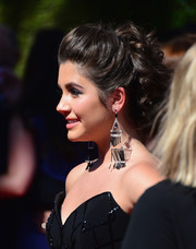 Ana Golja wore the most perfectly sweet pinned-up ringlets when she attended the Creative Arts Emmy Awards.