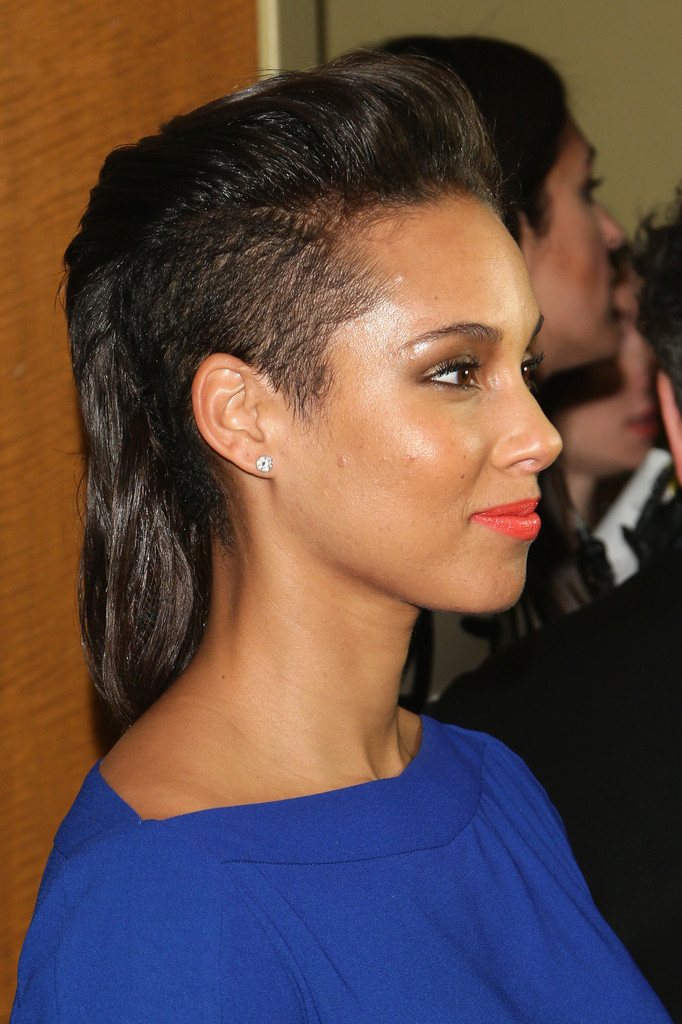 More Pics Of Alicia Keys Mullet 14 Of 20 Alicia Keys