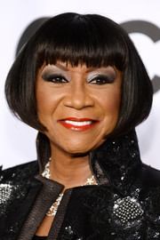 Patti LaBelle attended the Tony Awards wearing a bob with blunt bangs.