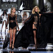 2014—Karlie Kloss (and Best Friend Taylor Swift) Match in Black Lace