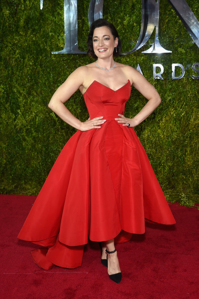 Laura Michelle Kelly in Zac Posen - Best and Worst Dressed at the ...