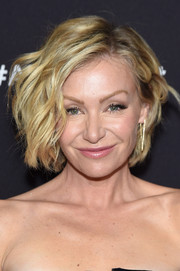 Portia de Rossi sported cute short waves at the ABC Upfront event.