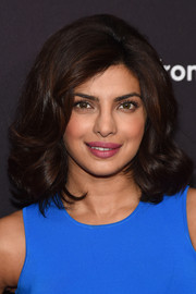 Priyanka Chopra looked retro-chic with her teased, bouncy curls at the ABC Upfront event.