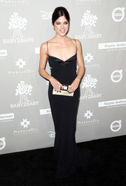 Selma Blair brought plenty of allure to the Baby2Baby Gala with this black Narciso Rodriguez slip dress.
