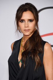 Victoria Beckham pulled her hair back into a lovely wavy ponytail for the CFDA Fashion Awards.