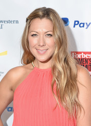 Colbie Caillat attended the Forbes Women's Summit looking boho with her long waves.