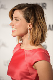 Sophia Bush styled her hair with just a hint of a wave for the Glamour Women of the Year Awards.