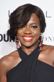 Viola Davis attended the Glamour Women of the Year Awards wearing a sweet curly updo.