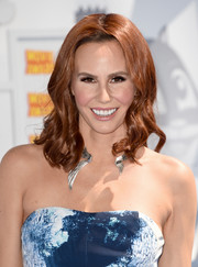 Keltie Knight looked lovely with her sculpted curls at the MTV Movie Awards.