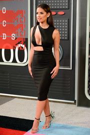Rocsi Diaz made a daring statement in this ultra-sexy cutout LBD by House of CB during the MTV Video Music Awards.
