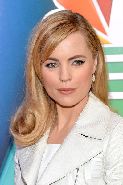 Melissa George looked very pretty with her wavy ends and side-swept bangs at the NBC Upfront Presentation.