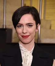 Rebecca Hall kept it simple with this short hairstyle at the 2015 Susan Smith Blackburn Prize ceremony.