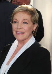 Julie Andrews sported her usual short side-parted style at the 50th anniversary screening of 'The Sound of Music.'