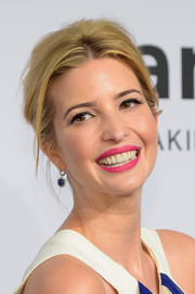 Ivanka Trump channeled Barbie with this bright-pink lip color at the amfAR New York Gala.