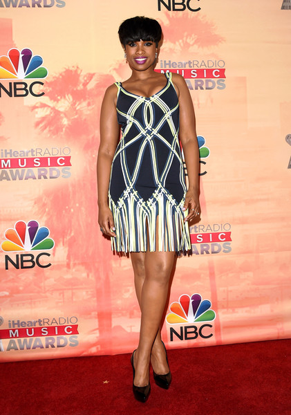 Jennifer Hudson in Hérve Legér by Max Azria
