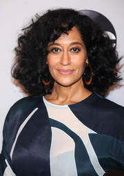 Tracee Ellis Ross stuck to her signature high-volume curls when she attended the 2016 ABC Upfront.