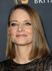 Jodie Foster sported a sleek mid-length bob at the 2016 BAFTA Britannia Awards.
