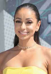 Mya rocked the wet look with this slicked-back 'do at the 2016 BET Awards.