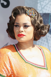 Andra Day brought a dose of vintage glamour to the BET Awards with these retro curls.