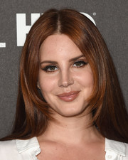 Lana Del Rey wore a classic center-parted hairstyle to the Billboard Power 100 celebration.