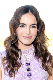 Camilla Belle was chicly coiffed with this long wavy 'do at the 2016 Breeders' Cup.