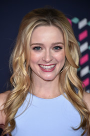 Greer Grammer looked perfectly cute with her long wavy 'do at the 2016 CMT Music Awards.
