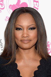 Garcelle Beauvais framed her face with a sleek straight style for the 2016 Carousel of Hope Ball.
