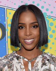 Kelly Rowland sported a face-framing bob at the 2016 Essence Street Style Block Party.
