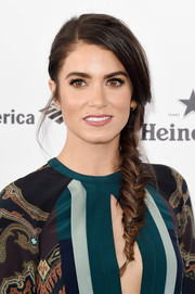 Nikki Reed looked oh-so-pretty wearing this loose side braid at the Film Independent Spirit Awards.