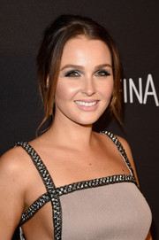 Camilla Luddington kept it relaxed yet sophisticated with this loose bun at the InStyle and Warner Bros. Golden Globes post-party.