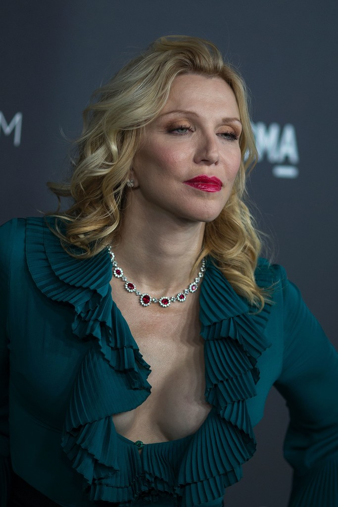 More Pics Of Courtney Love Medium Curls 1 Of 6