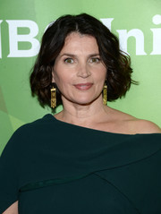 Julia Ormond kept it classic with this curly bob at the NBCUniversal Summer TCA Tour.