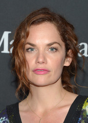 Ruth Wilson rocked a disheveled-chic ponytail at the TIFF/InStyle/HFPA party.