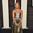 Golden Maria Lucia Hohan Gown at the 2016 Vanity Fair Oscar Party