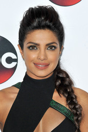 Priyanka Chopra rocked an effortless French braid updo when she attended the Winter TCA Tour.