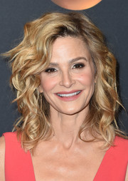 Kyra Sedgwick was chicly coiffed with voluminous curls at the 2017 ABC Upfront.