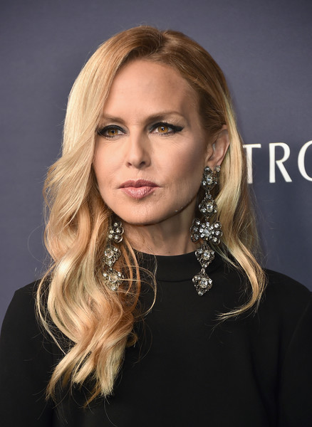 Rachel Zoe made an ultra-glam statement with those massive earrings!
