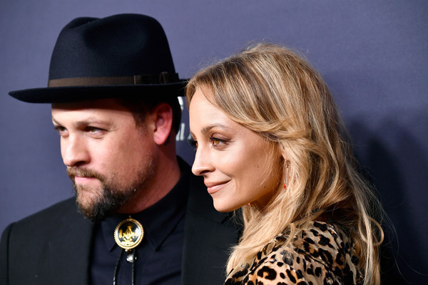 More Pics of Nicole Richie Gemstone Pendant (1 of 9) - Nicole Richie Lookbook - StyleBistro [hair,facial hair,hat,beard,fashion accessory,fedora,headgear,fun,event,photography,arrivals,joel madden,nicole richie,3labs,culver city,california,baby2baby,l,baby2baby gala]