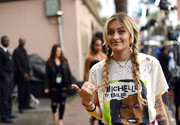 Paris Jackson kept it laid-back with these pigtail braids at the 2017 MTV Movie and TV Awards.