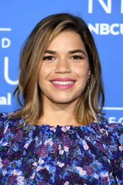 America Ferrera showed off a trendy layered 'do at the 2017 NBCUniversal Upfront.