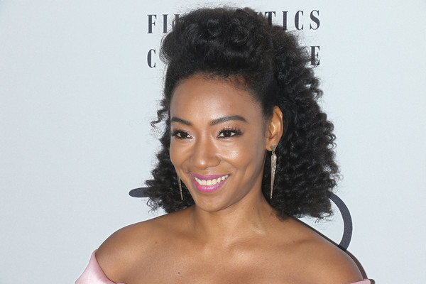 37 Wedding Hairstyles For Black Women To Drool Over 2017: More Pics Of Betty Gabriel Strappy Sandals (2 Of 9